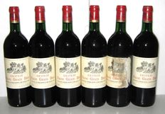 1985 Château Franc Grace Dieu, Grand Cru de Saint-Emilion – Lot of 6 bottles