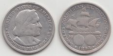 "United States – Half Dollar 1893 ""Columbian Exposition"" – silver"
