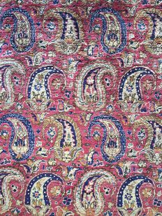 Keshan, pure silk - Persia - antique