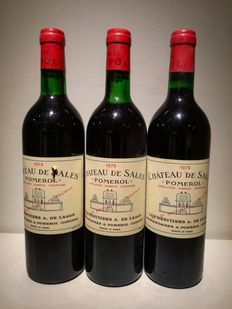 1979 Chateau de Sales - Pomerol - 3 Bt