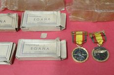 Military medal from the 1936/39 campaign. Granted to the Condor Legion and to the 133rd Armoured Division Littorio, of Spain rearguard