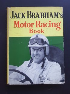 Bruce McLaren (RIP) Jack Brabham (RIP) and Graham Hill (RIP) - Jack Brabham's Motor Racing Book - original signed by all 3 + COA