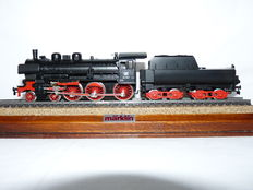 Primex H0 - 3010 - Steam locomotive with bucket tender BR 38 of the DB