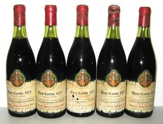 1972 Aloxe Corton, Domaine Michel Voarick, Lot of 5 bottles