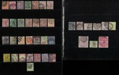 Great Britain 1865/1887 - Collection of stamps - Michel 3/97