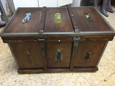 Artisan, medieval style trunk