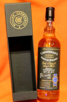 Bowmore 2001, aged 15 years, Cask Strength Single Malt Whisky, 54,8%vol. 70cl/700ml, Bourbon Hogshead, Cadenheads Collection
