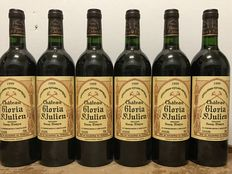 1999 Château Gloria, Saint-Julien – Totaal 6 bottles
