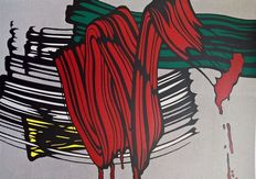 Roy Lichtenstein (after) - Brushstrokes