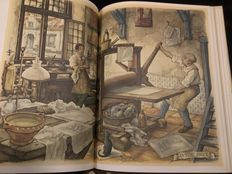 Anton Pieck; Lot of 8 books with his illustrations - 1939/1986