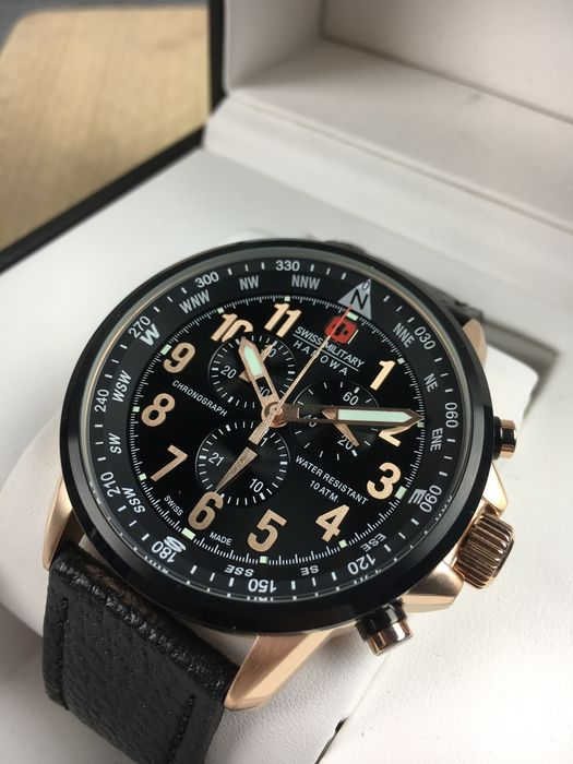 Swiss Military - Flightmaster chronograph - 14907X - Heren - 2011-heden