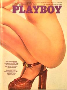 Playboy USA - Lot with 12 Playboy vintage issues - 1973