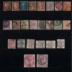 Great Britain 1855/1883 - Collection of stamps - Michel 10/115A
