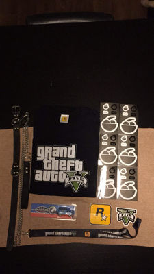 GTA V goodies including Chop's leash and more!
