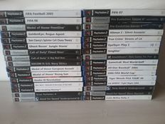 32 PS2 Games Complete with Manuals