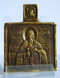 "A small but hard to get travel icon of the ""H. TICHON "" - 17th century"