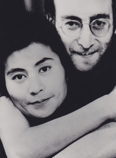 Unknown - Echo Post - Associated Press - John Lennon and Yoko Ono - New York - 1969 and 1971