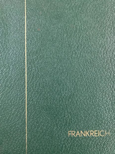 France 1754/1947 - extremely strong, very specialized Collection in Leuchtturm-binder