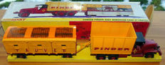 Dinky Supertoys - Scale 1/48 - Truck and Trailer GMC Circus Pinder No.881