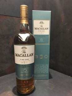 Macallan 15 Year Old Fine Oak