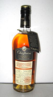 Miltonduff 1989 22 Years Old- Speyside - 70cl. - 50% - Chieftain's
