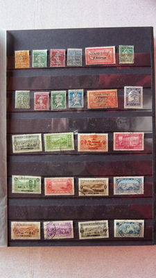 Former French colonies 1986/1959 – Selection of stamps