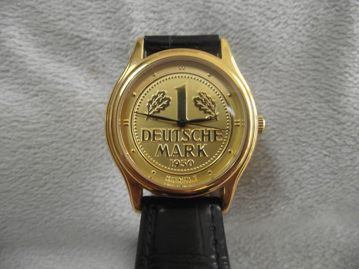 kienzle automatik u h r deutsche mark 1950 gold plated. Black Bedroom Furniture Sets. Home Design Ideas