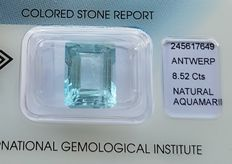 Aquamarine - 8.52 ct