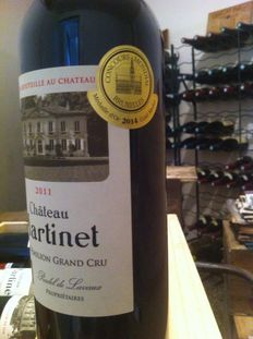 2011 Château Martinet, Saint-Emilion Grand Cru - 12 bottles