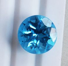 Topaz - Swiss Blue - 13.88 ct