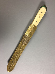 Burmese dagger/late 19th century.