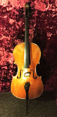 Beautiful cello, German, 50 to 60 years old