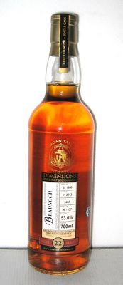 1990 Bladnoch 22Years Old- Lowland - 70cl. - 53,0% - Duncan-Taylor