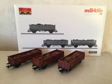 Märklin H0 - 46098 -  open freight carriages scrap