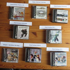 Sony Playstation 1 ( one ) Collection of 8 Games - Final Fantasy - USA Version - NTSC