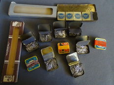 Gramophone needles in boxes,  set of Pegasus, set of Marschall, and Kenner assortment