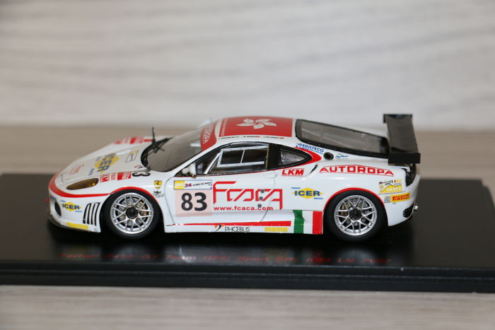 bbr red line scale 1 43 ferrari f430 gt 83 le mans 2007 catawiki. Black Bedroom Furniture Sets. Home Design Ideas