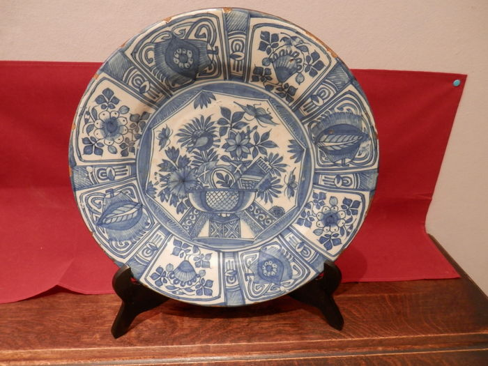 Delft earthenware plate with wanli decor catawiki for Decor traduction