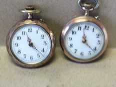 Two ladies' pocket watches - 1920
