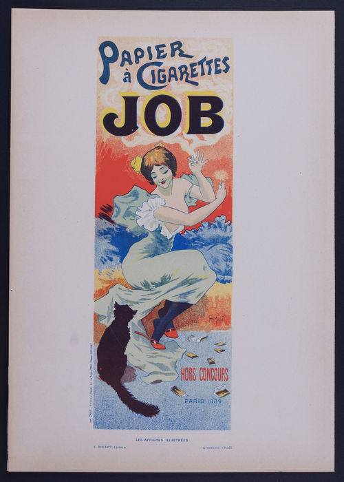 Henry Meunier  - 'Job' original small lithograph poster from the 'Les Affiches Illustrées' series