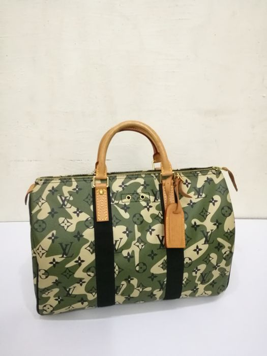 84fda2ce0d Louis Vuitton - Monogramouflage Speedy 35 - Catawiki