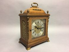 Wooden table clock with pendulum - Warmink - Period: 1940