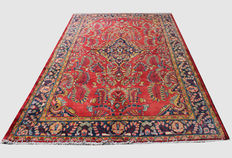 Full Room Size Floral Design Hand-knotted Persian Lilian Rug 315x220cm, Central Persia