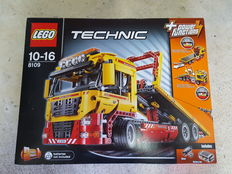 Technic - 8109 - Flatbed Truck