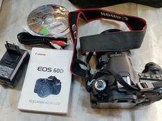 CANON eos 60D SLR Camera with objective Ultrasonic EFS 17-85mm
