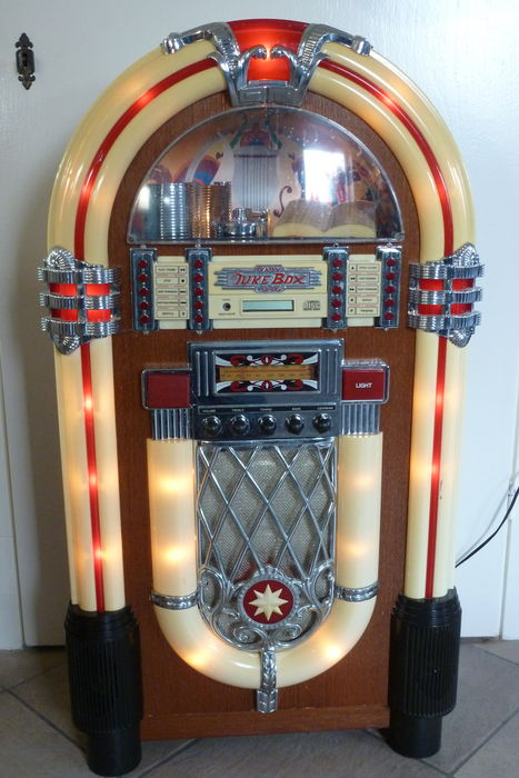 baby jukebox 1946 cathedral wurlitzer repro catawiki. Black Bedroom Furniture Sets. Home Design Ideas