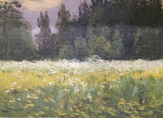 Joseph M. Babynets - Field of flowers