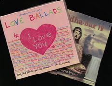 Lot of two classic pop/ downtempo / modern classical/ deep house vinyl album boxes including 'Love ballads' and 'Buddha bar IV'