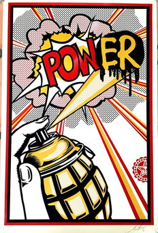 Shepard Fairey (OBEY) - Power