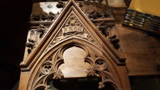Rare Neo-gothic carving - 1870